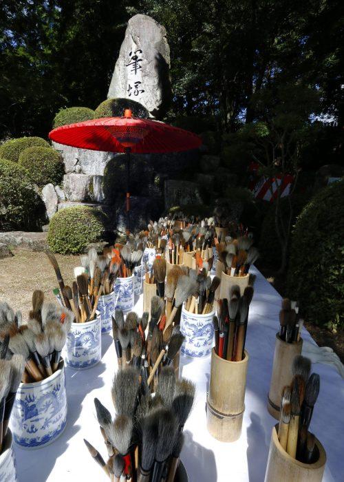 85+熊野町長賞「供養を待つ」中村栄二様